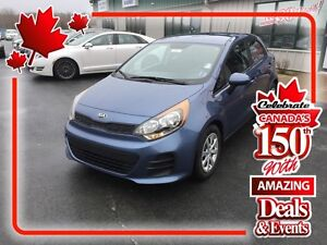 2016 Kia Rio LX+ Hatchback ( CANADA DAY SALE!) NOW $12,450