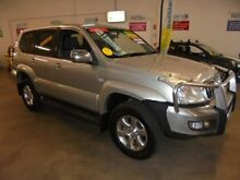 2005 Toyota Landcruiser Prado KZJ120R GXL Silver 4 Speed Automatic Wagon Wangara Wanneroo Area Preview