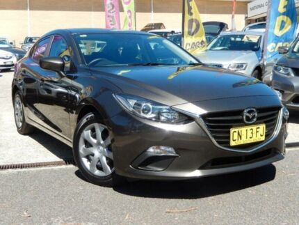 2014 Mazda 3 BM Neo Grey 6 Speed Manual Sedan