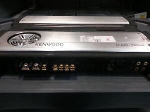 Kenwood Car Amp. We sell used Amps. We have tons of Amps and Subwoofers from brands like, MTX, JL Audio (#26355)