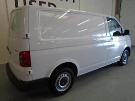 Volkswagen Transporter 2.0 Tdi Bmt 84 Startline Van DIESEL MANUAL WHITE (2017)