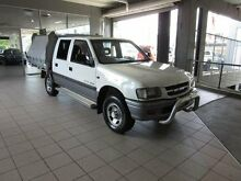 2001 Holden Rodeo TFR9 LX White 5 Speed Manual Crewcab Thornleigh Hornsby Area Preview