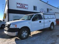 2005 Ford F-150 XL 2WD with work canopy ONLY $6950!! Red Deer Alberta Preview