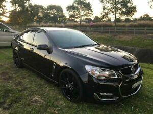 2017 Holden Commodore VF II MY17 SS Black 6 Speed Manual Sedan Mayfield East Newcastle Area Preview
