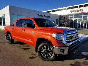 2017 Toyota Tundra 4WD CREWMAX TRD Navi, Backup Cam, Heated Sets