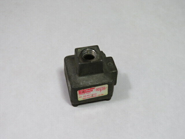 Schrader Bellows 36401000 Quick Exhaust Valve  USED