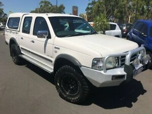2006 Ford Courier PH (Upgrade) GL Crew Cab White 5 Speed Automatic Utility East Bunbury Bunbury Area Preview