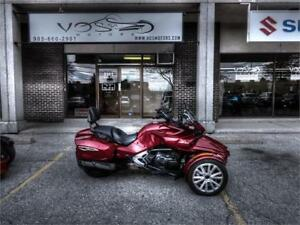 2016 Can-Am Spyder F3T-Stock#V2607NP- Free Delivery in the GTA**