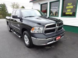 2016 Ram 1500 SXT 3.6L V6 4x4 for only $236 bi-weekly all in!