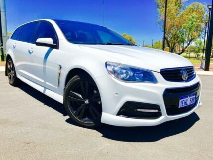 2013 Holden Commodore VF SV6 White 6 Speed Automatic Sportswagon Beckenham Gosnells Area Preview