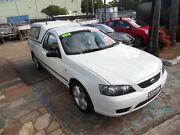 2006 Ford Falcon BF XL (LPG) White 4 Speed Auto Seq Sportshift Utility Homebush West Strathfield Area Preview