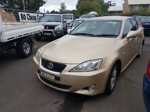 2008 Lexus IS250 GSE20R Prestige Champagne 6 Speed Auto Sequential Sedan Campbelltown Campbelltown Area Preview