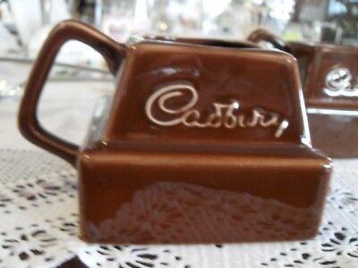 TAZZA RETRO PUBBLICITARIA IN CERAMICA  VINTAGE ENGLISH CADBURY'S CHOCOLATE MUG