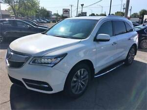2014 Acura MDX NAVIGATION BLANC PERLE MARCHE PIED 49000KM