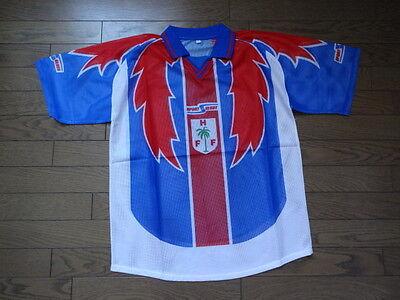 Haiti 100% Original Soccer Football Jersey Shirt L 2000's Home BNWOT Rare image
