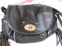 genuine Modalu of London black leather bag