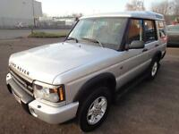 LHD 2003 Land Rover Discovery 2.5TD5 4x4 Manual 7 SEAT FRENCH REGISTERED