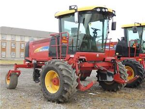 2012 New Holland H8080 & 36HB Swather - 226hp, GPS, Roto-Shears