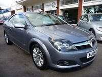 VAUXHALL ASTRA 1.9 TWIN TOP SPORT 3d 150 BHP (silver) 2009