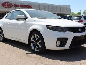 2013 Kia Forte Koup SX, SUNROOF, AUX/USB, HEATED SEATS, LEATHER,