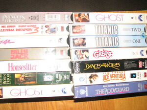 Over 100 vhs tapes, disney, John Wayne etc. Cambridge Kitchener Area image 5