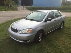 2006/Toyota Corolla ..Safety E test $3999+hst