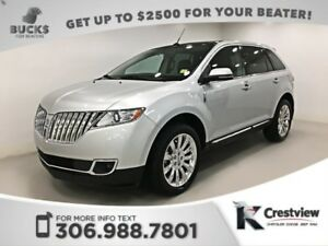 2015 Lincoln MKX AWD | Leather | Sunroof | Navigation