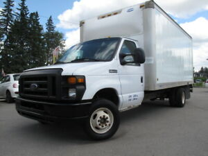 2011 Ford E-350 Cutaway Cube Van **BRAND NEW FORD BOX MOTOR**