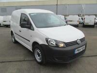 Volkswagen Caddy C20 1.6 Tdi 75Ps Startline Van DIESEL MANUAL WHITE (2014)