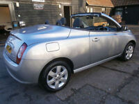 0656 NISSAN MICRA C+C 1.6 SPORT AUTOMATIC PANORAMIC GLASS POWER ROOF CONVERTIBLE