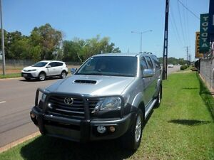 2014 Toyota Hilux KUN26R MY14 SR5 (4x4) 5 Speed Manual Dual Cab Pick-up Winnellie Darwin City Preview