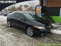 2008 Honda Civic Coupe Si CERTIFIED! 6-SPEED! WARRANTY!