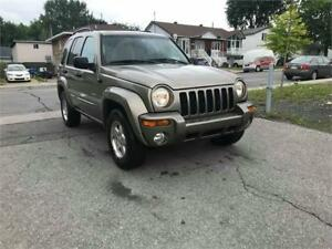 2004 JEEP LIBERTY 44000 MILE