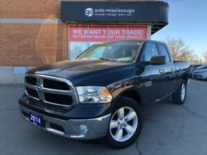 2014 Ram 1500 SLT 4x4 Quad EcoDiesel | Uconnect| Hitch| Bed line