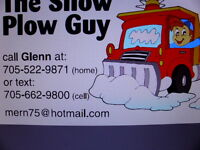 new sudbury area residential snow plowing upon request