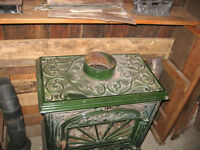 Solid Cast Iron Wood Stove