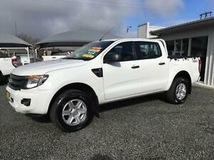 2014 Ford Ranger PX XL 3.2 (4x4) White 6 Speed Automatic Dual Cab Utility Gloucester Gloucester Area Preview