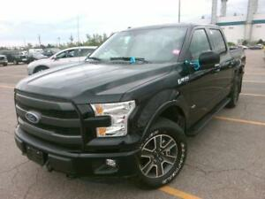 **LARIAT**, 2015 Ford F150, Navi.,360Camera,PanoRoof,Leather