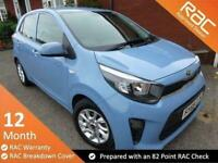 2018 Kia Picanto 1.2 Specification 2 5d 83 BHP Full Automatic Hatchback Petrol A