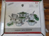 BREND NEW COOKWARE SET 12 PIECE HIGH QUALITY