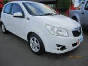 2011 Holden Barina TK MY10 White 5 Speed Auto Active Select Hatchback Capalaba West Brisbane South East Preview
