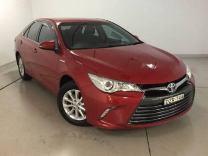 2015 Toyota Camry AVV50R Altise Red 1 Speed Constant Variable Sedan Hybrid Chatswood Willoughby Area Preview
