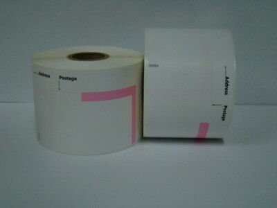 36 Rolls Of Dymo Labelwriter Compatible 30384 2-part Postage Labels 150 Pr