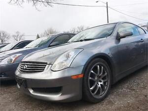 2006 INFINITI G35 COUPE 6MT SPEED SPORT LEATHER & MORE!