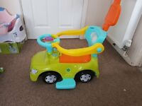 Baby walker and Car for kid