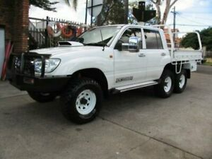 2006 Toyota Landcruiser HDJ100R Upgrade II GXL (4x4) White 5 Speed Manual Wagon
