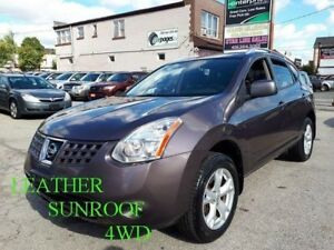 2009 Nissan Rogue SL/LEATHER/SUNROOF/4WD