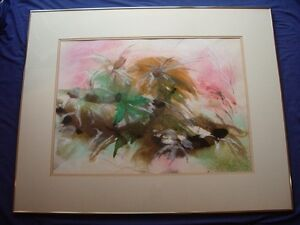 Unique Abstract Art - Original Piece Framed and Signed