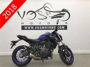 2018 Yamaha MT-07AJL - V3092 - No Payments For 1 Year**