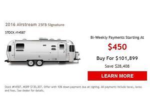 2016 Airstream 25 FB Signature